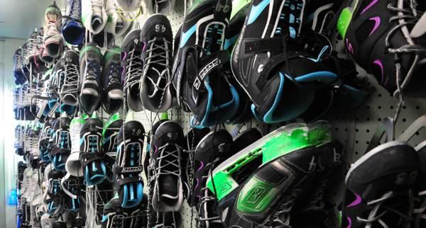 Location de patins pour groupe